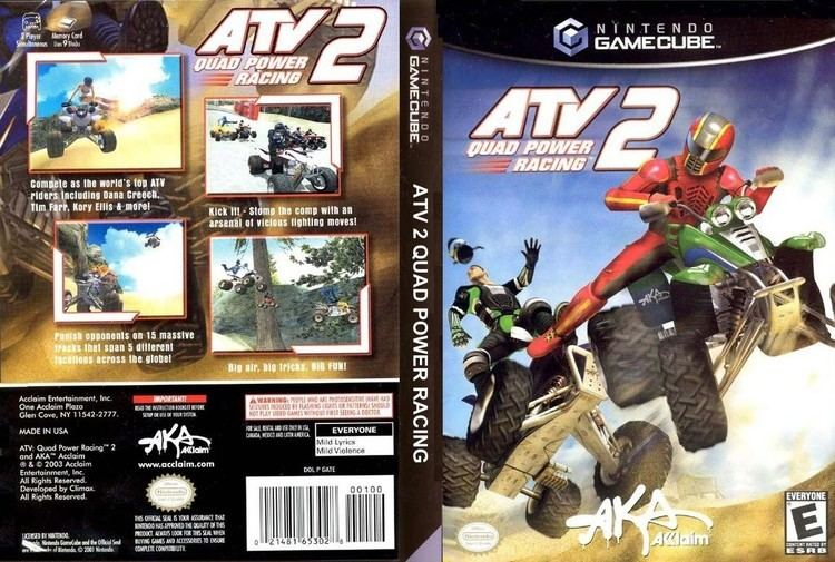 ATV Quad Power Racing 2 NGC ATV Quad Power Racing 2 U oRARs
