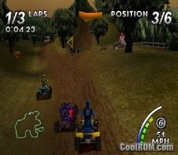 ATV Quad Power Racing ATV Quad Power Racing ROM ISO Download for Sony Playstation