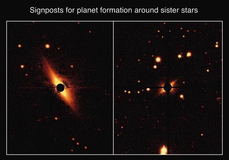 AU Microscopii Star AU Microscopii debris disk Paul Kalas Circumstellar Disk