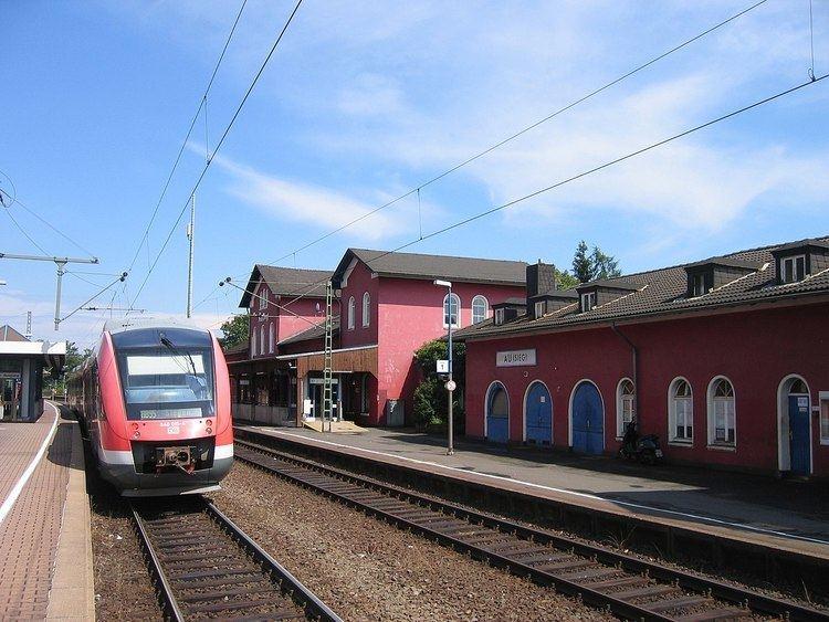 Au (Sieg) station