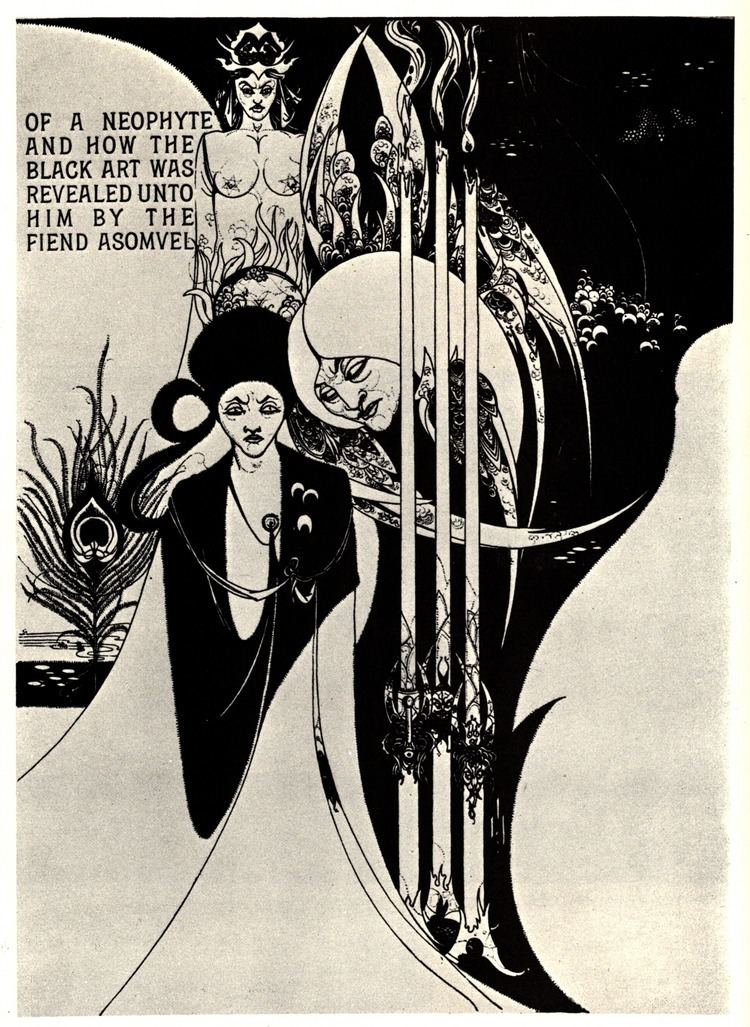 Aubrey Beardsley Of a Neophyte and how the Black Art was revealed unto him