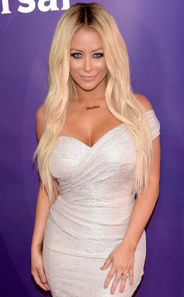 Aubrey O'Day Aubrey O39Day and Pauly D39s Engagement Secret Revealed on Famously