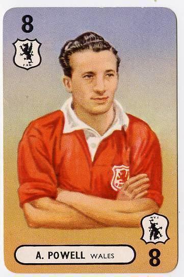 Aubrey Powell (footballer) Aubrey Powell Leeds United Wales 19467 eBay
