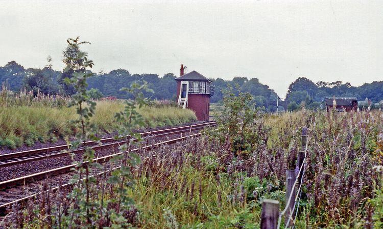 Auchterarder railway station