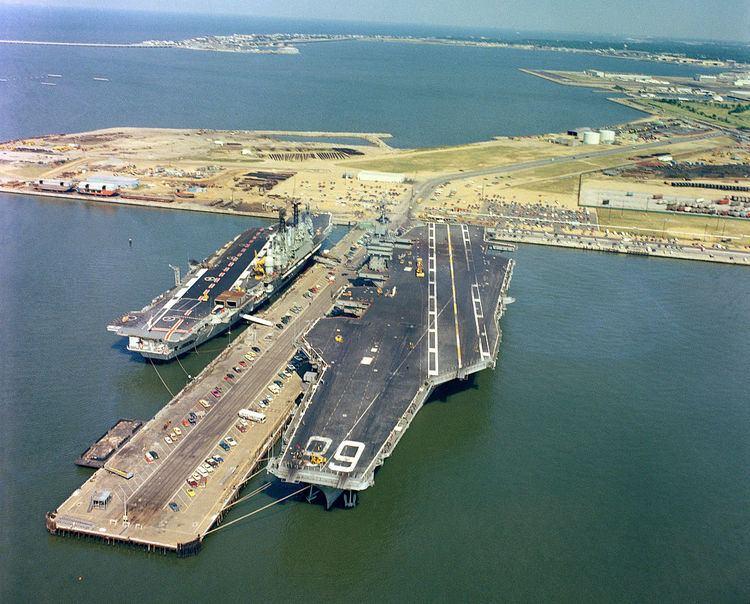 Audacious-class aircraft carrier