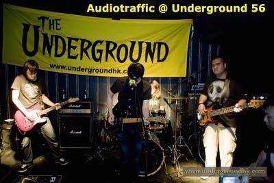 Audiotraffic AudioTraffic Underground Hong Kong Hong Kong live music