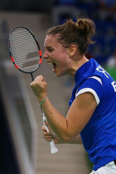 Audrey Fontaine Audrey Fontaine Pictures Badminton Day 15 Baku 2015 1st European
