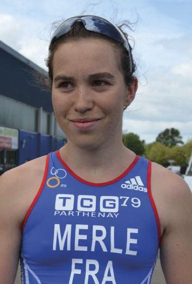 Audrey Merle Le TCG 79 l39lite du triathlon en Gtine