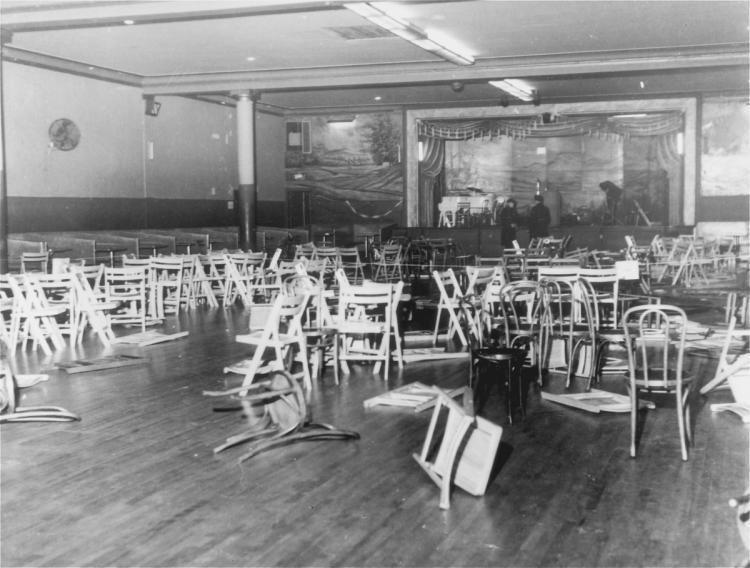 Audubon Ballroom Malcolm X is assassinated in 1965 NY Daily News