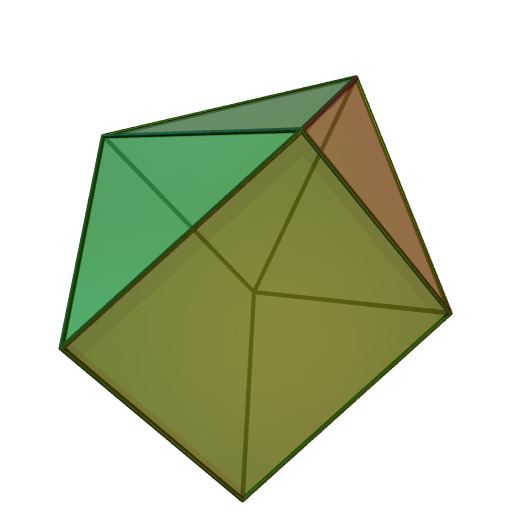 Augmented triangular prism