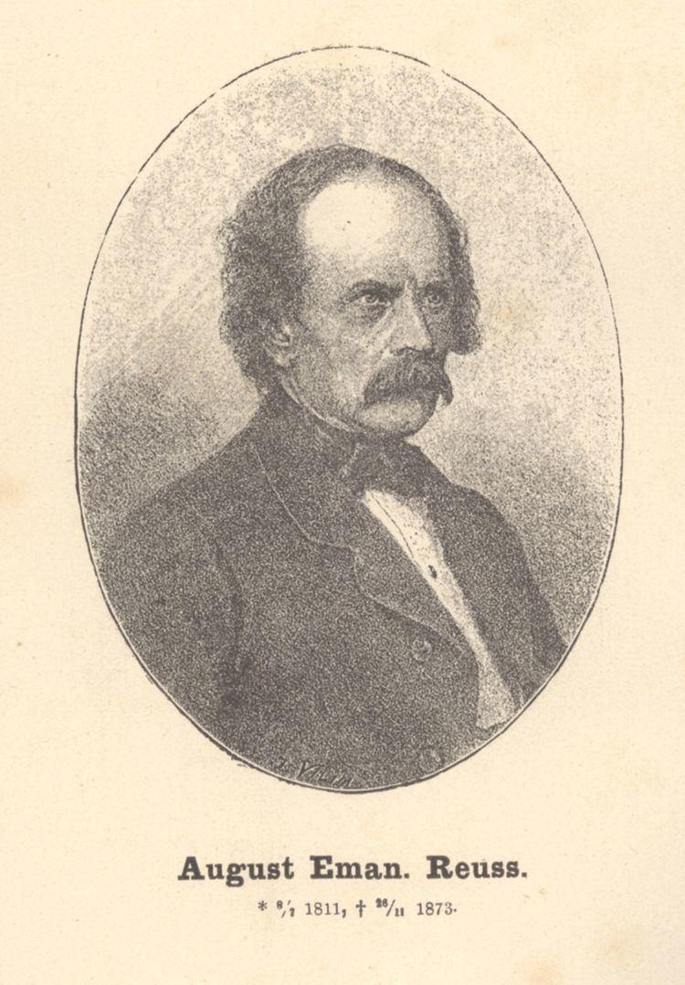 August Emanuel von Reuss August Emanuel von Reuss Wikipedia