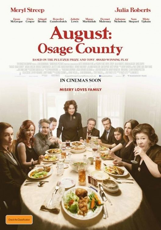 August: Osage County (film) August Osage County Movie Poster 3 of 4 IMP Awards