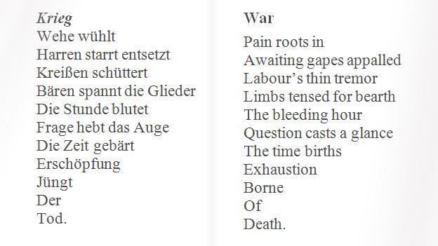 August Stramm Fallen First World War Poets 1 August Stramm Slow Reader 1