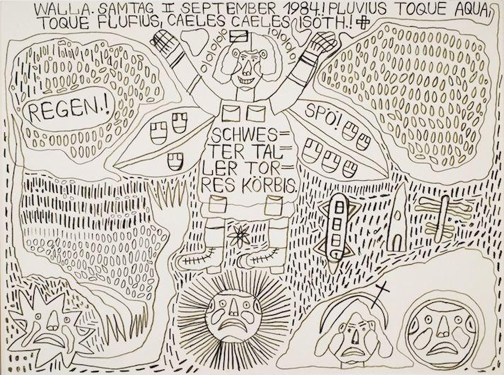 August Walla Artist Outsider Art Fair