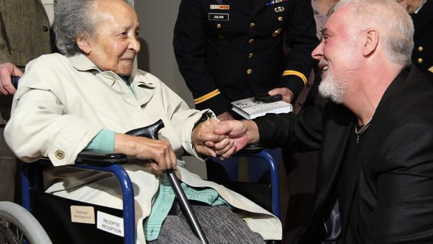 Augusta Chiwy Belgian WWII nurse who helped save many US troops dies