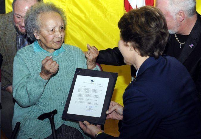 Augusta Chiwy Augusta Chiwy 39Forgotten39 Wartime Nurse Dies at 94 The