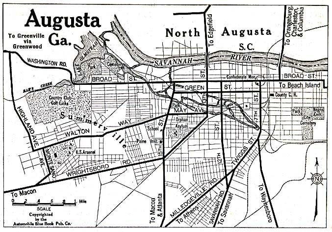 Augusta, Georgia in the past, History of Augusta, Georgia