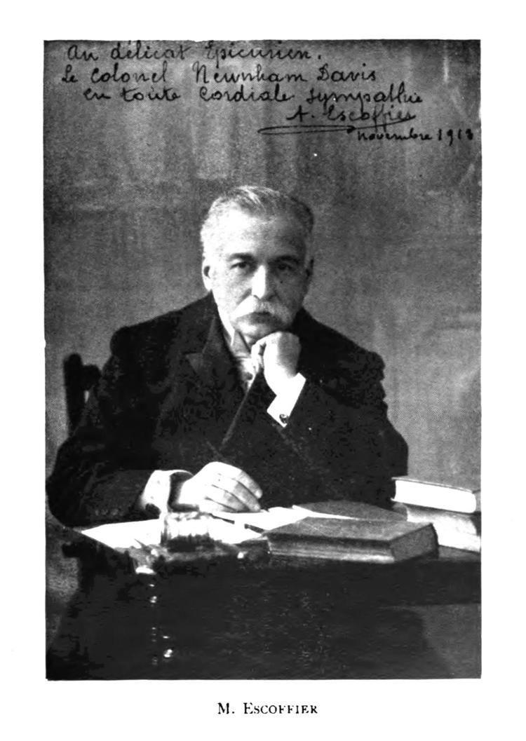 Auguste Escoffier Auguste Escoffier Wikipedia the free encyclopedia