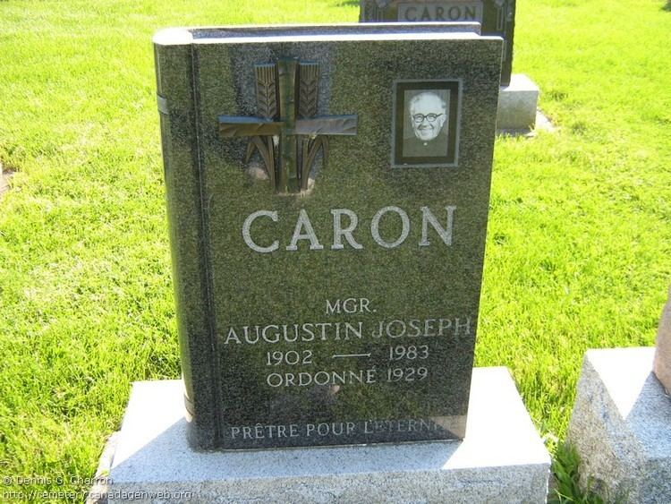 Augustin Joseph Caron Rev Fr Augustin Joseph Caron 1902 1983 Find A Grave Memorial