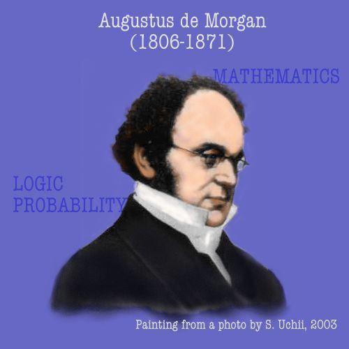 Augustus De Morgan De Morgan