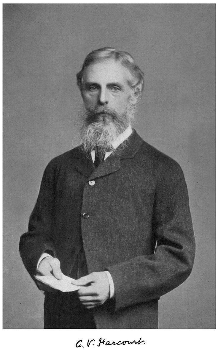 Augustus George Vernon Harcourt