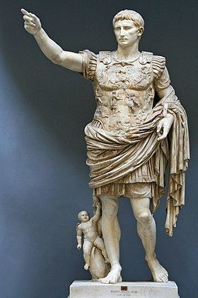 Augustus of Prima Porta httpsuploadwikimediaorgwikipediacommonsthu