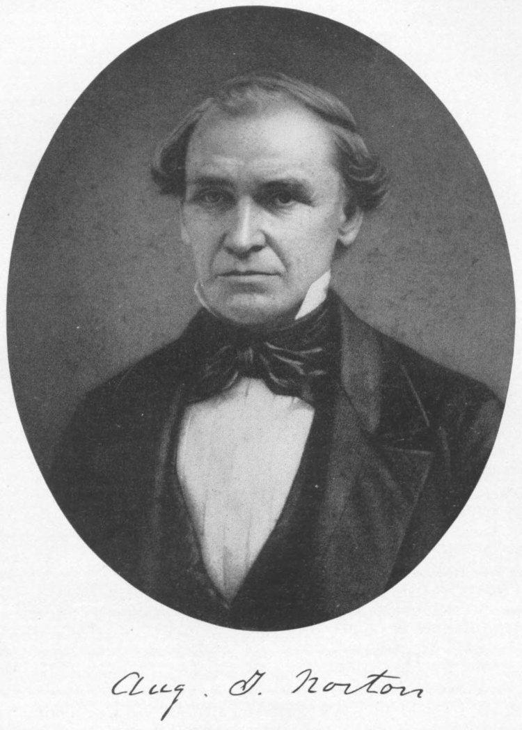 Augustus Theodore Norton Augustus Theodore Norton 1808 1884 Find A Grave Memorial