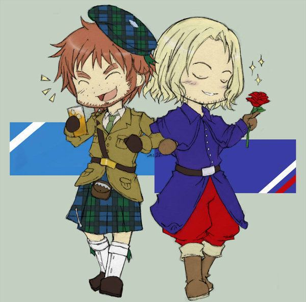 Auld Alliance APH Auld Alliance by claudiakat on DeviantArt