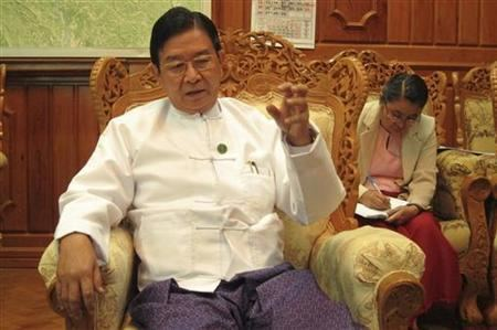Aung Min Myanmar says will make 39all necessary compromises39 for