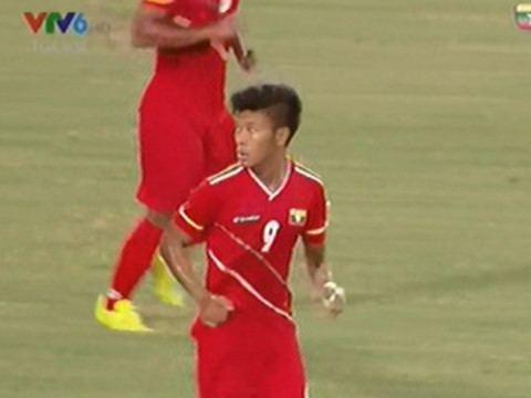 Aung Thu Aung Thu rt ngn t s 13 cho U19 Myanmar nh amp Video