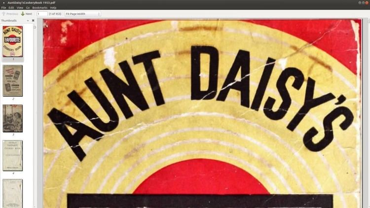 Aunt Daisy How to download a 1953 Aunt Daisy cookbook YouTube