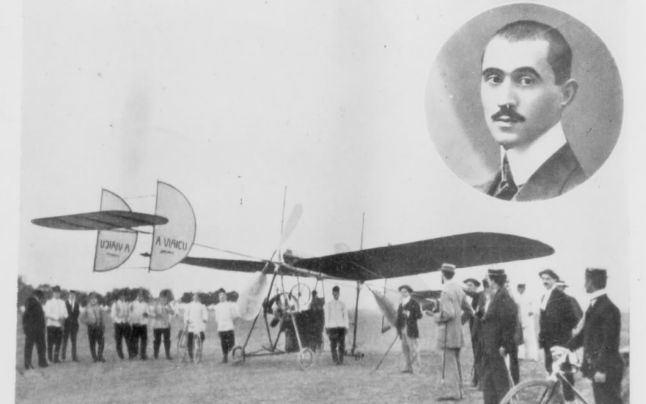 Aurel Vlaicu 103 ani de la primul zbor al lui Aurel Vlaicu pe Dealul