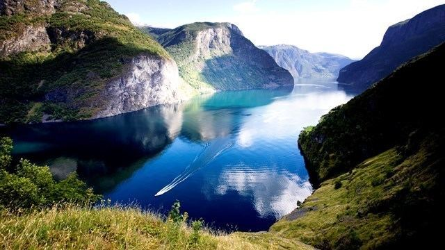 Aurlandsfjord The Aurlandsfjord in Norway Fjord Tours