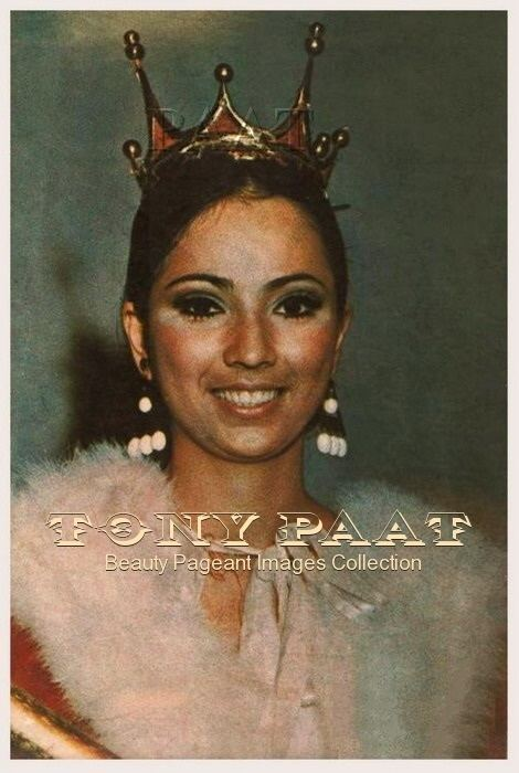 Aurora Pijuan Aurora Pijuan Miss International 1970 Tony Paat39s Collection