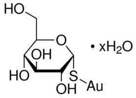 Aurothioglucose Aurothioglucose hydrate 96 titration SigmaAldrich