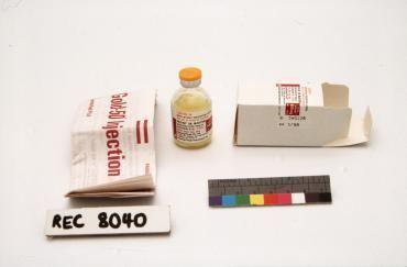 Aurothioglucose 971011 Medication Gold50 Aurothioglucoseglassrubbermetal