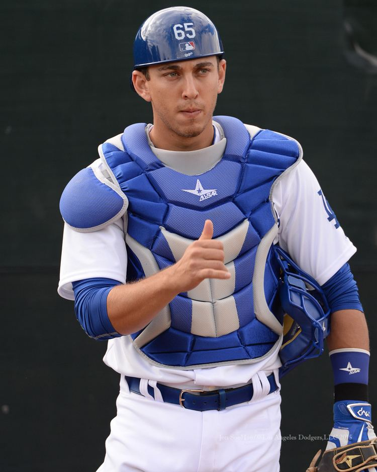 Austin Barnes 2015 February 23 Dodgers Photog Blog