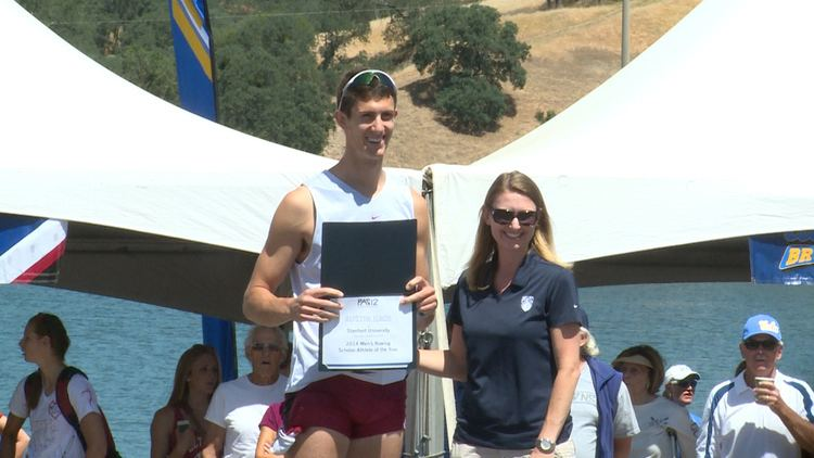 Austin Hack Stanford39s Austin Hack on being named ScholarAthlete of the Year