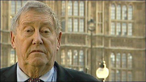 Austin Mitchell BBC NEWS Programmes Daily Politics Austin Mitchell