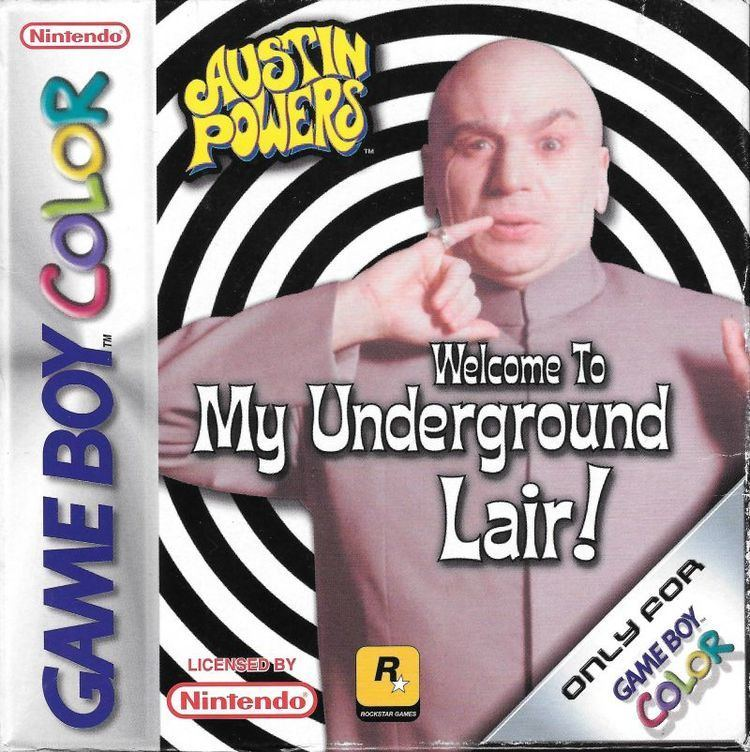 Austin Powers: Welcome to My Underground Lair! Austin Powers Welcome to My Underground Lair for Game Boy Color