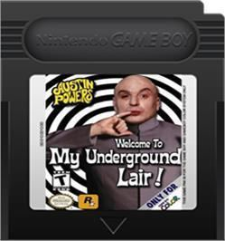 Austin Powers: Welcome to My Underground Lair! Austin Powers Welcome to My Underground Lair Nintendo Game Boy