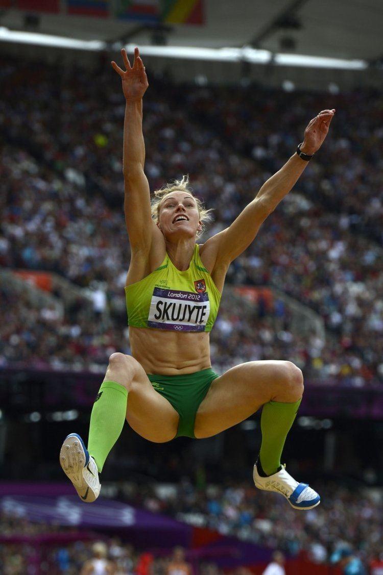 Austra Skujytė Olimpini aidyni septynkov ASkujyt po 800 m bgimo liko per