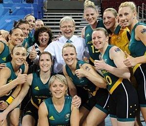 Australia women's national basketball team Female Olympians Fly Economy
