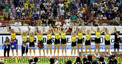 Australia women's national basketball team Australia women39s national basketball team Wikipedia