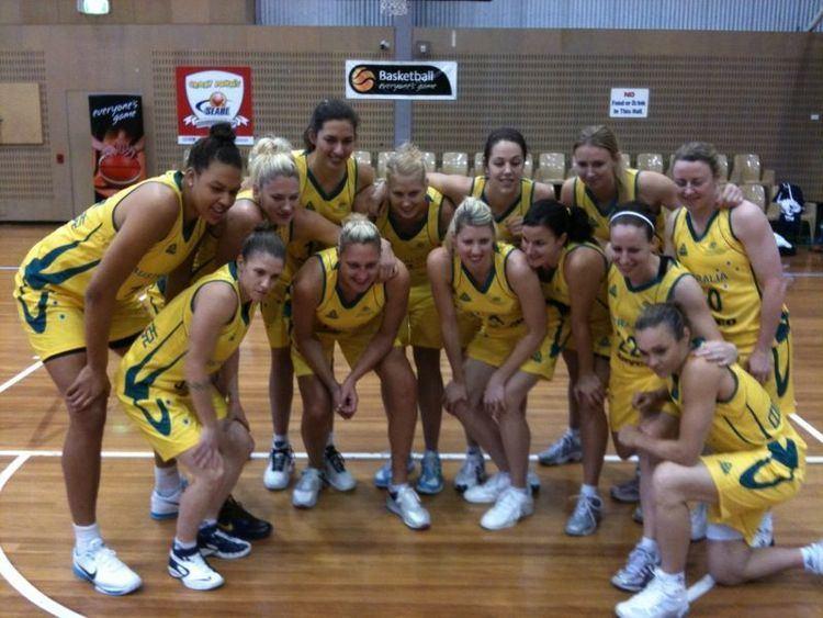 Australia women's national basketball team australiawomensgoldmedalteamjpg