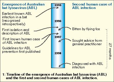 Australian bat lyssavirus Australian bat lyssavirus infection a second human case with a
