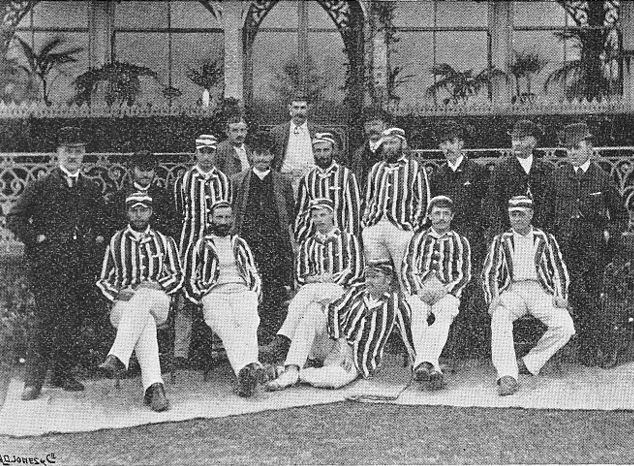 Australian cricket team in England in 1886