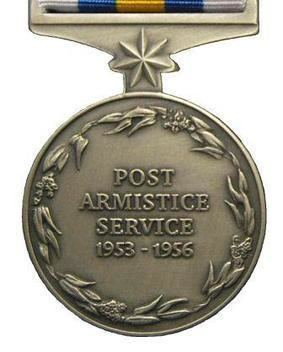 Australian General Service Medal Korea