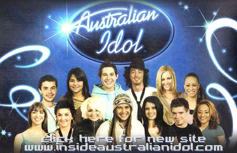 Australian Idol Inside Australian Idol contestants finalists