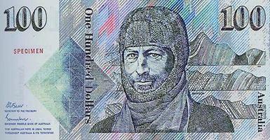 Australian one hundred-dollar note